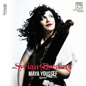 Cover of Maya Youssef′s ″Syrian Dreams″ (released by Harmonia Mundi)