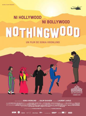"Film poster for Sonia Kronlund's ""King of Nothingwood"" (Source: Unifrance)"