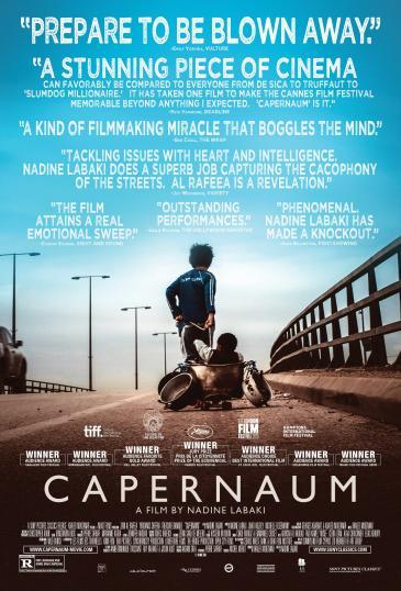 """Film poster of """"Capernaum"""""""