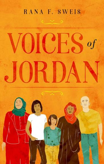 """Cover of Rana Sweisʹ """"Voices of Jordan"""" (published in English by Hurst Publishers 2018)"""
