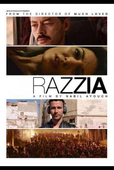"""Razzia"" film poster"