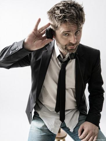 DJ Robert Soko, creator of Balkan Beats and co-organiser of ARABBEATS (photo: