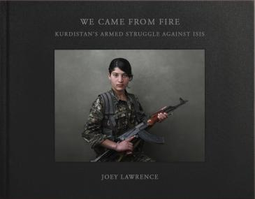 "Cover of Joey Lawrence's ""We came from fire"" (published by powerHouse)"