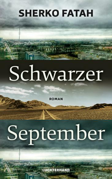 "Cover of Sherko Fatah's ""Schwarzer September"" – Black September (published in German by Luchterhand)"