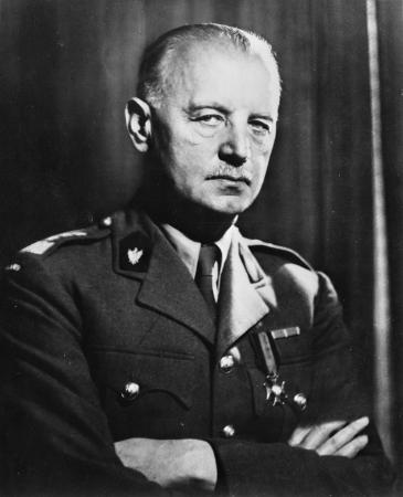 Wladysław Eugeniusz Sikorski, Prime Minister of the Polish government in exile from 1939 to 1943 (photo: Wikipedia/Collection of the Office of War Information)