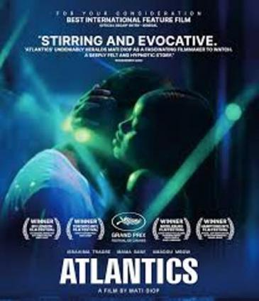 """Atlantics"" film poster (distributed by Netflix)"