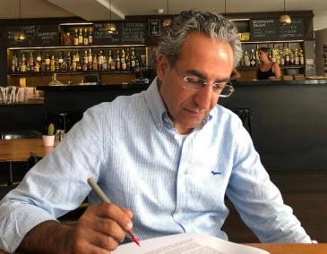 Lebanese political scientist Bassel Salloukh is associate professor of political science at the Lebanese American University in Beirut (photo: Bassel Salloukh)