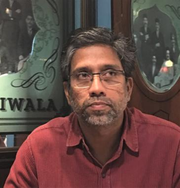 Muslim academic Hany Babu, charged and imprisoned (photo: Jenny Rowena)
