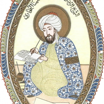 Flipped miniature of Avicenna / Ibn Sina (source: wikimedia.org; Creative Commons CC0 1.0 Universal Public Domain Dedication)