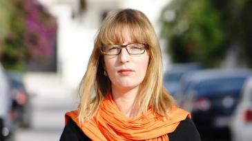 Correspondent Sarah Mersch (photo: DW)