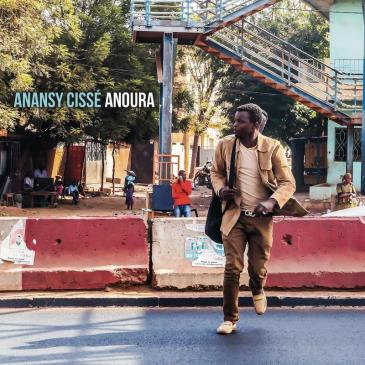 "Cover of Anansy Cisse's ""Anoura"" (distributed by Riverboat Records)"