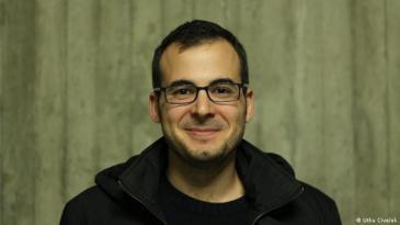 Bogazici alumnus and electronic engineer Selim Ozgen (photo: Utku Civelek)