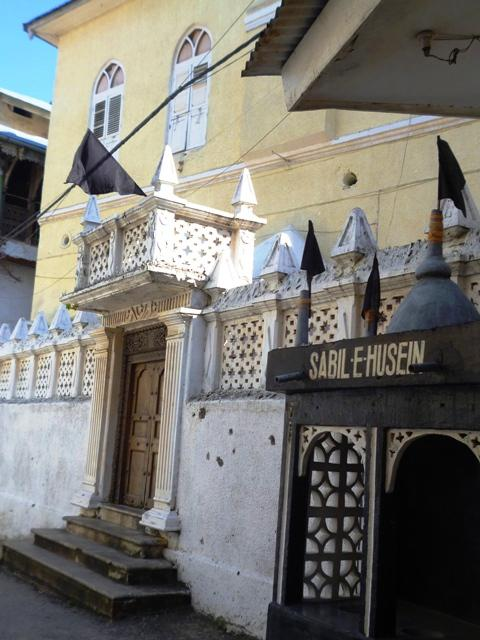 Shia mosque in Stone Town