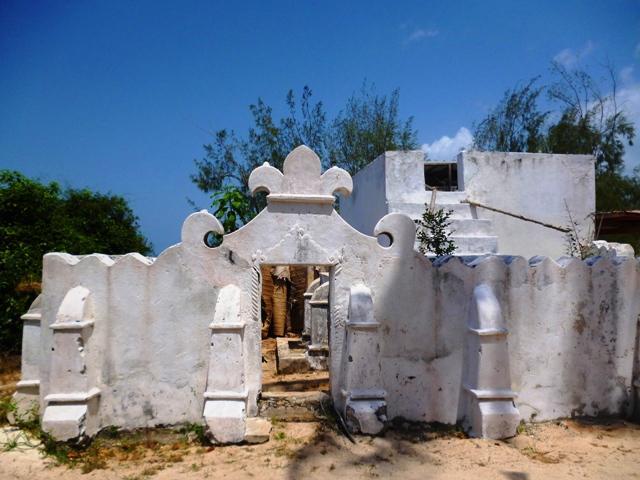 Mosque on Chumbe Island