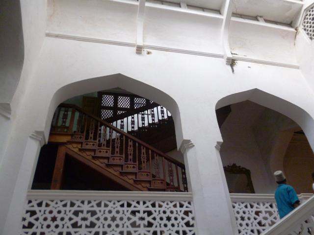 The interior of the Sultan's Palace