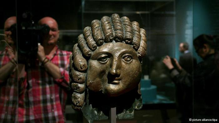 2,000-year-old bronze casting