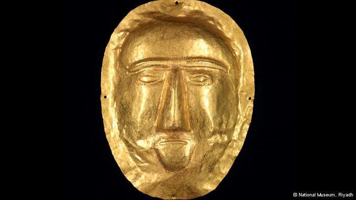 Golden death mask