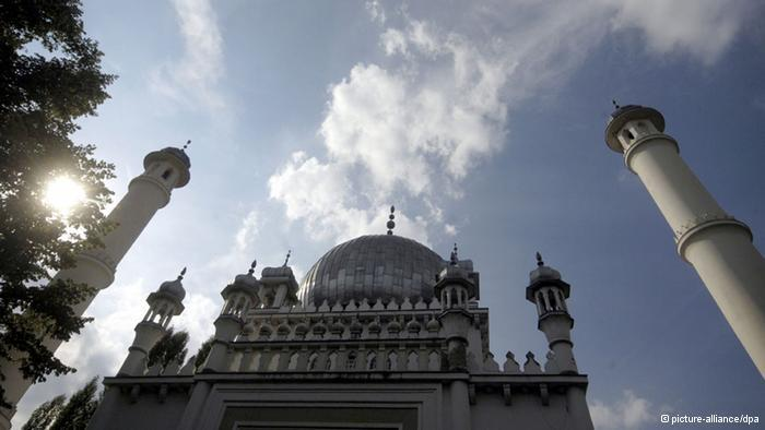 Germany's oldest mosque: modelled on the Taj Mahal