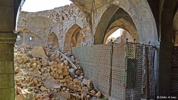 Destroyed Synagogue in the Province of Ninve