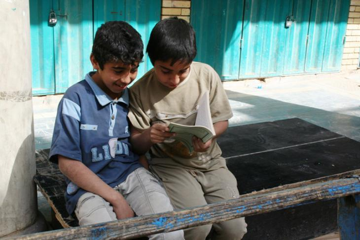 Many Baghdad residents have childhood memories of Al Mutanabbi Street. This is because it's also home to the largest market for school-related goods in Iraq