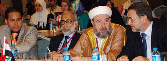 Syrian opposition leaders meet in Istanbul on 16 July 2011 to discuss strategies aimed at ousting President Assad. No agreement was reached on the formation of a transitional government