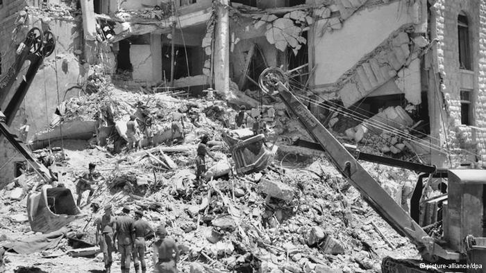 A disastrous bombing