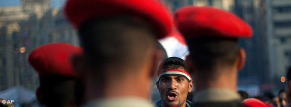 The cry for freedom: Tens of thousands of Egyptians faced 30,000 police and security personnel during the mass protests of 25 January 2011