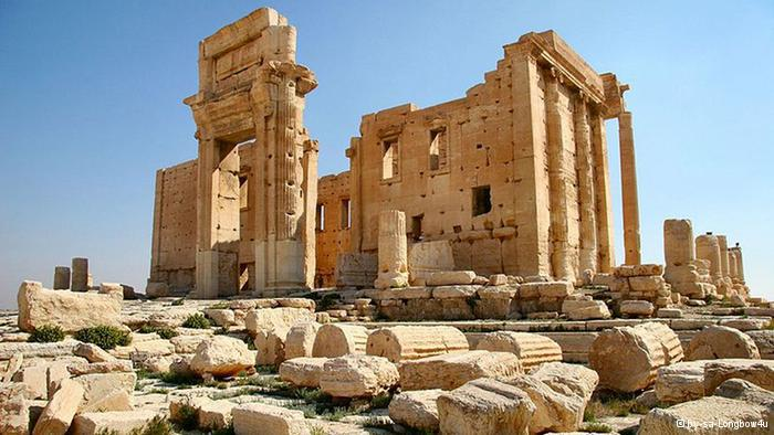 Baal temple in Palmyra