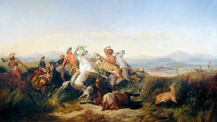 Hunting scene (photo: © in the public domain)