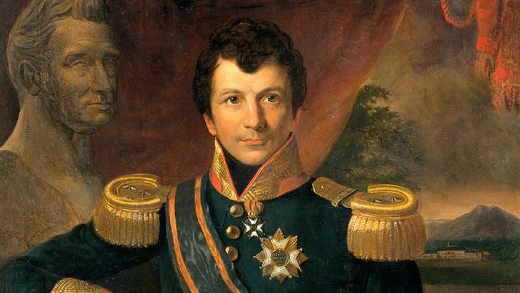 Portrait of Johannes Graaf van den Bosch (image: © in the public domain)
