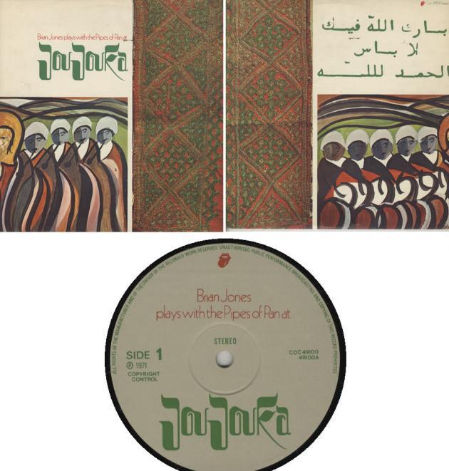 Album cover: Brian Jones Plays with the Pipes of Pan in Joujouka (image: © publisher)