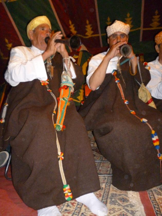 The Master Musicians at a concert in Joujouka (photo: © Arian Fariborz)