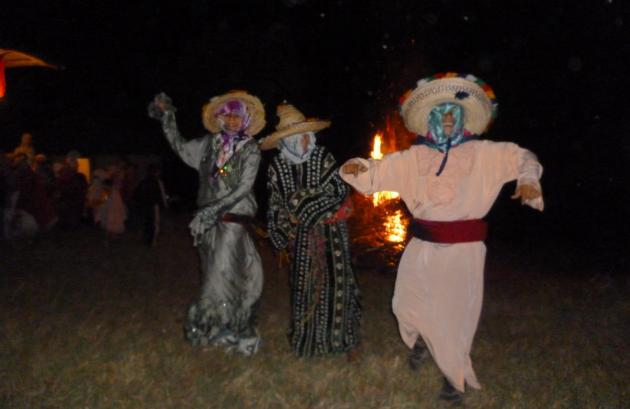 Dancing 'Crazy Aishas' in Joujouka (photo: © Arian Fariborz)