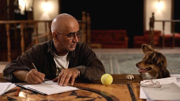 Scene from Jafar Panahi's film Closed Curtains