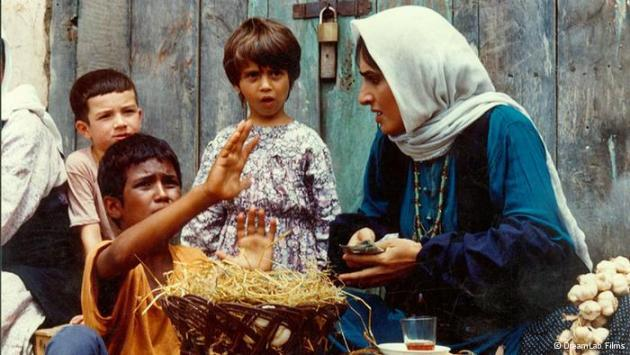 Scene from Bashu, the little stranger by Bahram Beyzai