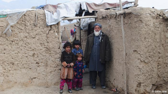 An Afghan family (photo: DW/H. Sirat)
