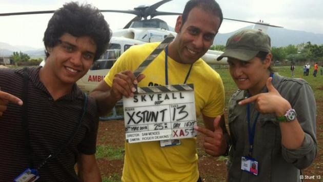 "Members of the ""Stunt 13"" team (photo: Stunt 13)"