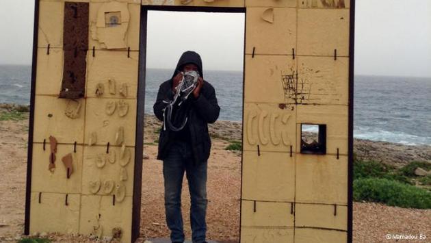 Lampedusa Gate (photo: Mamadou Ba)