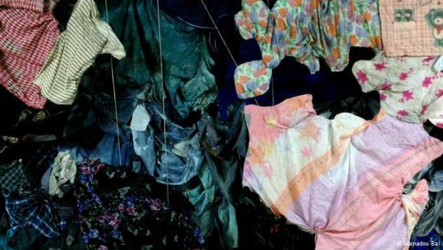 Clothes belonging to deceased refugees (photo: Mamadou Ba)