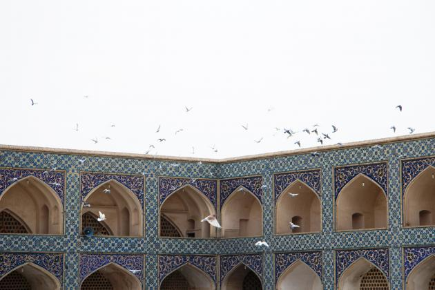 Jameh Mosque in Isfahan (photo: Shohreh Karimian/Johannes Ziemer)