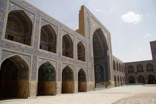 The Shah Mosque in Isfahan (photo: Shohreh Karimian/Johannes Ziemer)