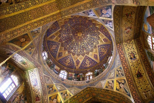 Holy Saviour Cathedral in Isfahan (photo: Shohreh Karimian/Johannes Ziemer)