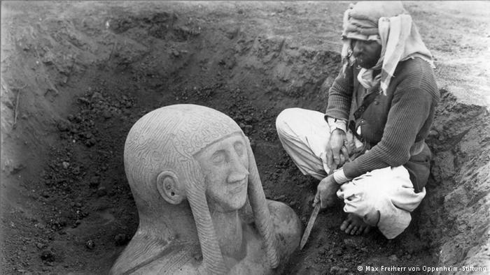 Excavations (photo: Max Freiherr von Oppenheim-Stiftung)