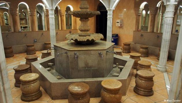 Ablution facility (photo: Max Zander)