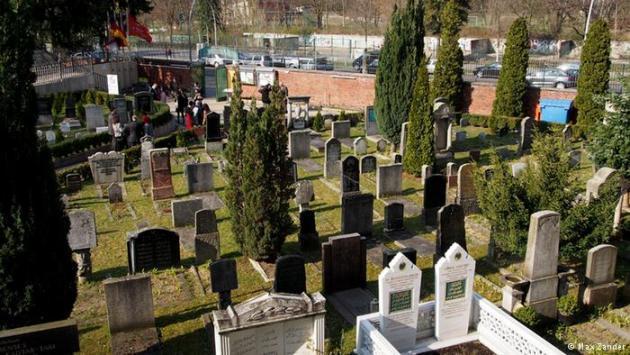 Muslim cemetery in Berlin-Neukölln (photo: Max Zander)