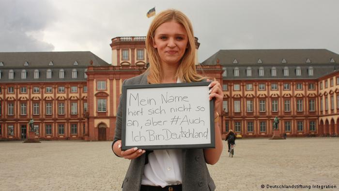 Anastasia M. from Mannheim (photo: © Deutschlandstiftung Integration)