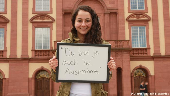Farah A. from Mannheim (photo: © Deutschlandstiftung Integration)
