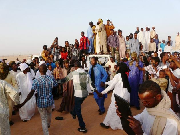 Inhabitants of Murzuq celebrate the national Tebu festival (photo: Valerie Stocker)