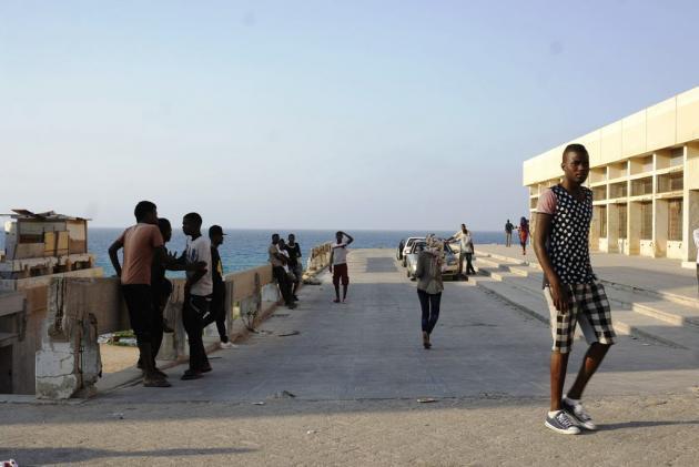 A refugee camp near Tripoli (photo: Valerie Stocker)