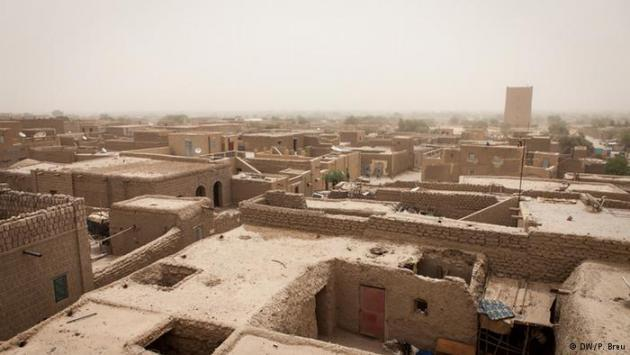The rooftops of Timbuktu (photo: DW/P. Breu)
